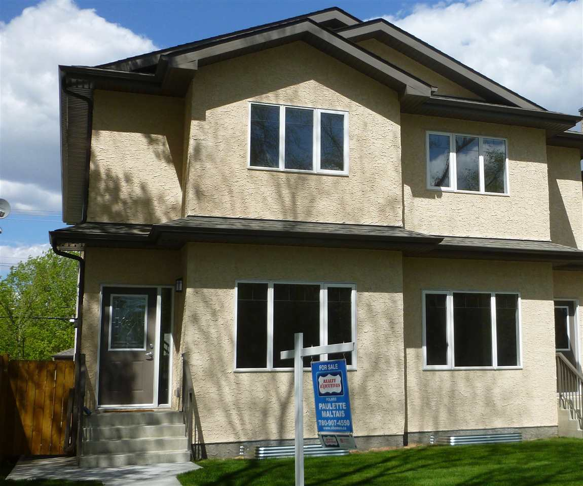 Main Photo: 8708 81 Avenue NW in Edmonton: Zone 17 House Half Duplex for sale : MLS(r) # E4063557