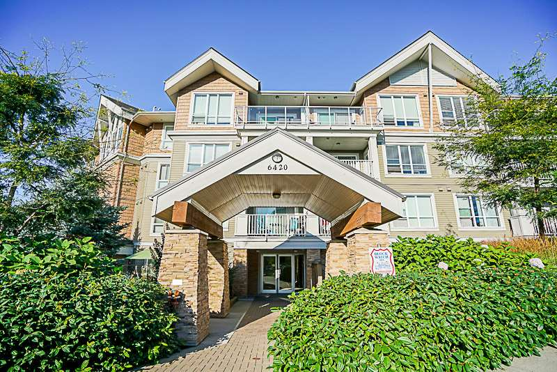 "Main Photo: 302 6420 194 Street in Surrey: Clayton Condo for sale in ""Waterstone"" (Cloverdale)  : MLS® # R2208213"