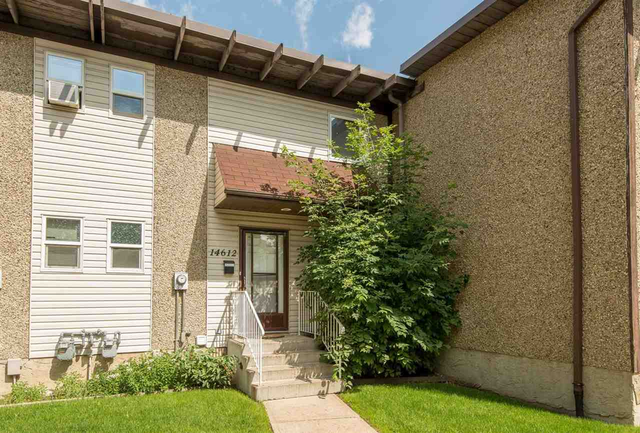 Main Photo: 14612 121 Street NW in Edmonton: Zone 27 Townhouse for sale : MLS® # E4096568