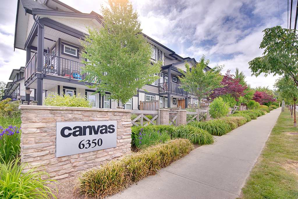 "Main Photo: 6 6350 142 Street in Surrey: Sullivan Station Townhouse for sale in ""CANVAS"" : MLS®# R2280964"