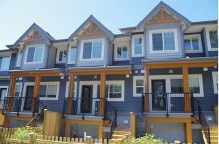 "Main Photo: 39 22810 113 Avenue in Maple Ridge: East Central Townhouse for sale in ""RUXTON VILLAGE"" : MLS®# R2282058"