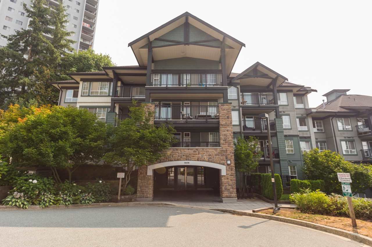"Main Photo: 419 9098 HALSTON Court in Burnaby: Government Road Condo for sale in ""Sandlewood II"" (Burnaby North)  : MLS®# R2298681"