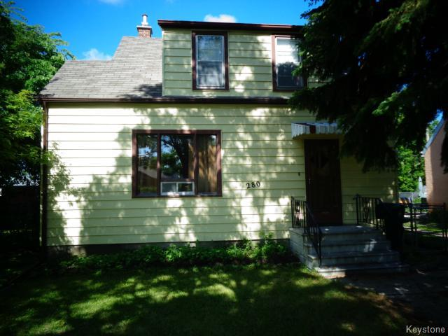 Main Photo: 280 Marjorie Street in WINNIPEG: St James Residential for sale (West Winnipeg)  : MLS® # 1415038
