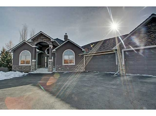 Main Photo: 75 BLUERIDGE Rise in Rural Rockyview County: Rural Rocky View MD House for sale : MLS®# C3656113
