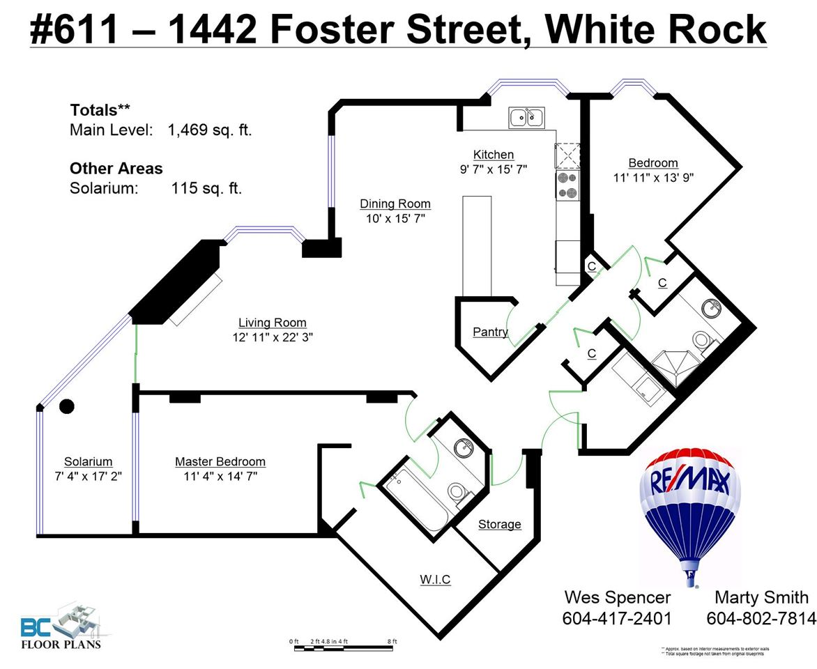 "Photo 20: 611 1442 FOSTER Street: White Rock Condo for sale in ""White Rock Square 3"" (South Surrey White Rock)  : MLS(r) # R2040854"