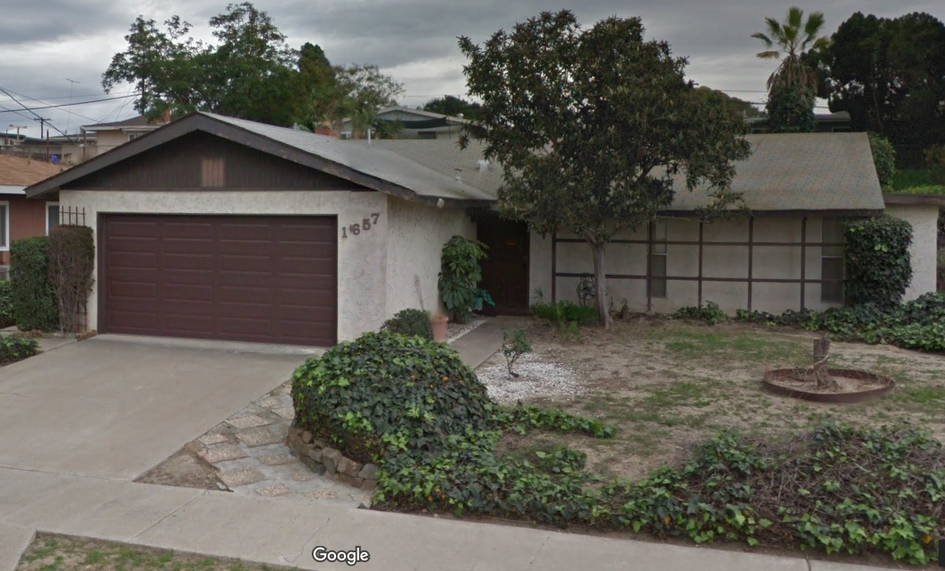Main Photo: LEMON GROVE House for sale : 3 bedrooms : 1657 WATWOOD ROAD