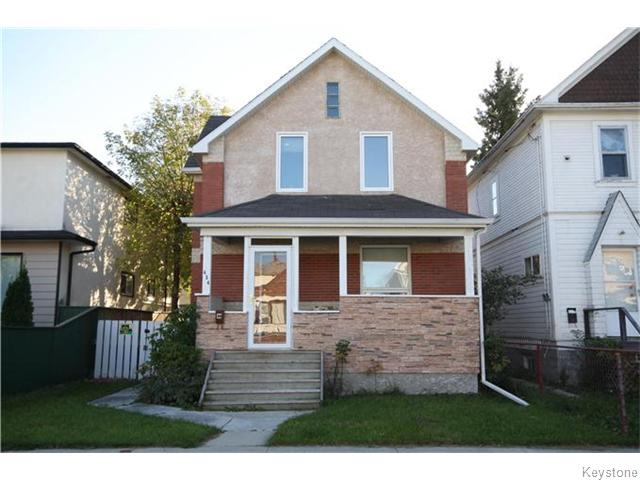 Main Photo: 434 Polson Avenue in Winnipeg: Residential for sale (4C)  : MLS® # 1626200