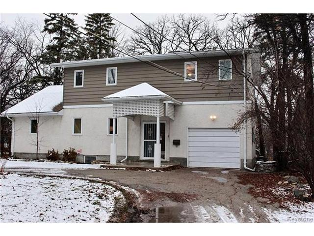 Main Photo: 4597 Roblin Boulevard in Winnipeg: Charleswood Residential for sale (1F)  : MLS® # 1629985