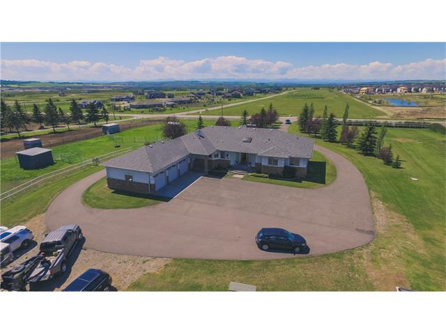 Photo 1: 354132 48 Street E: Rural Foothills M.D. House for sale : MLS® # C4096683