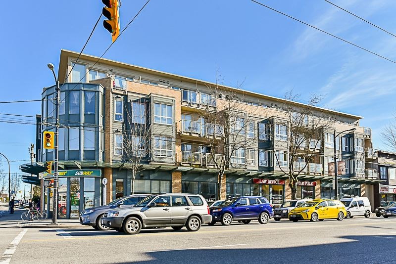 "Main Photo: 201 702 E KING EDWARD Avenue in Vancouver: Fraser VE Condo for sale in ""Magnolia"" (Vancouver East)  : MLS®# R2140513"