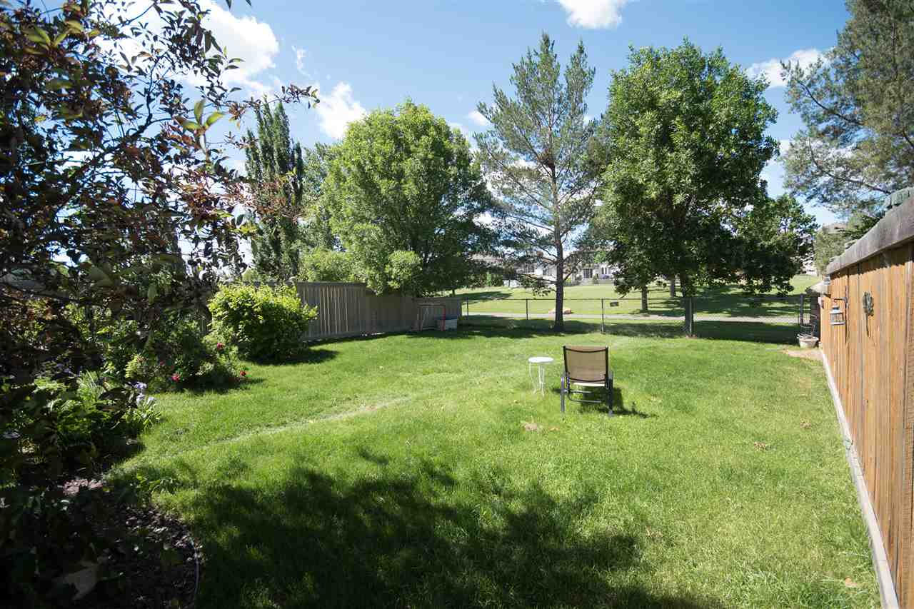Check out this beautiful, large backyard!  Absolutely beautiful -- backs onto the golf course!