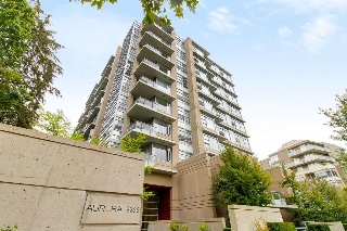 "Main Photo: 809 9266 UNIVERSITY Crescent in Burnaby: Simon Fraser Univer. Condo for sale in ""AURORA"" (Burnaby North)  : MLS® # R2201389"