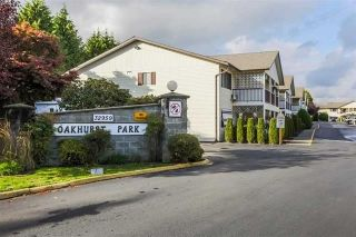 "Main Photo: 62 32959 GEORGE FERGUSON Way in Abbotsford: Central Abbotsford Townhouse for sale in ""Oakhurst Park"" : MLS® # R2229397"