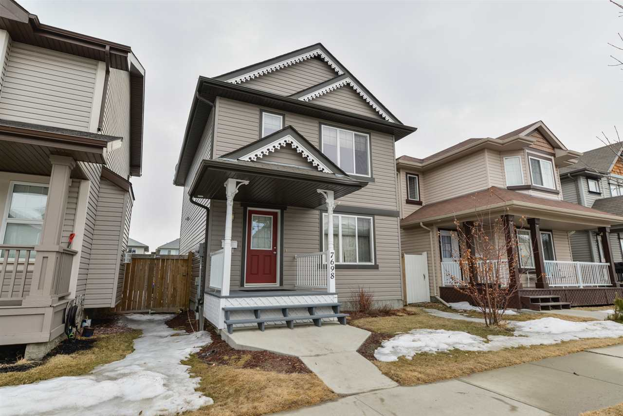 Main Photo: 7698 SCHMID Crescent NW in Edmonton: Zone 14 House for sale : MLS®# E4105598