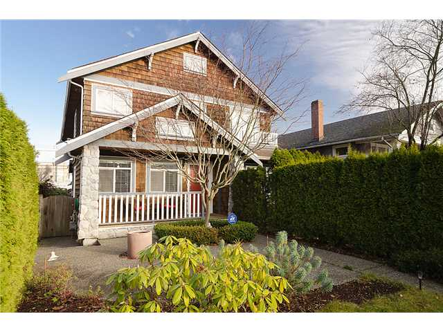 Main Photo: 2961 W 5TH Avenue in Vancouver: Kitsilano House 1/2 Duplex for sale (Vancouver West)  : MLS® # V920656