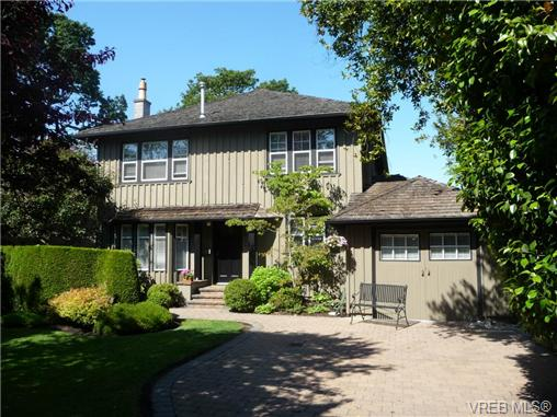 Main Photo: 1034 St. Patrick Street in VICTORIA: OB South Oak Bay Single Family Detached for sale (Oak Bay)  : MLS(r) # 351972