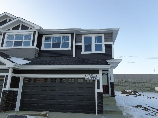 Main Photo: 859 EBBERS Crescent in Edmonton: Zone 02 House Half Duplex for sale : MLS(r) # E4048001