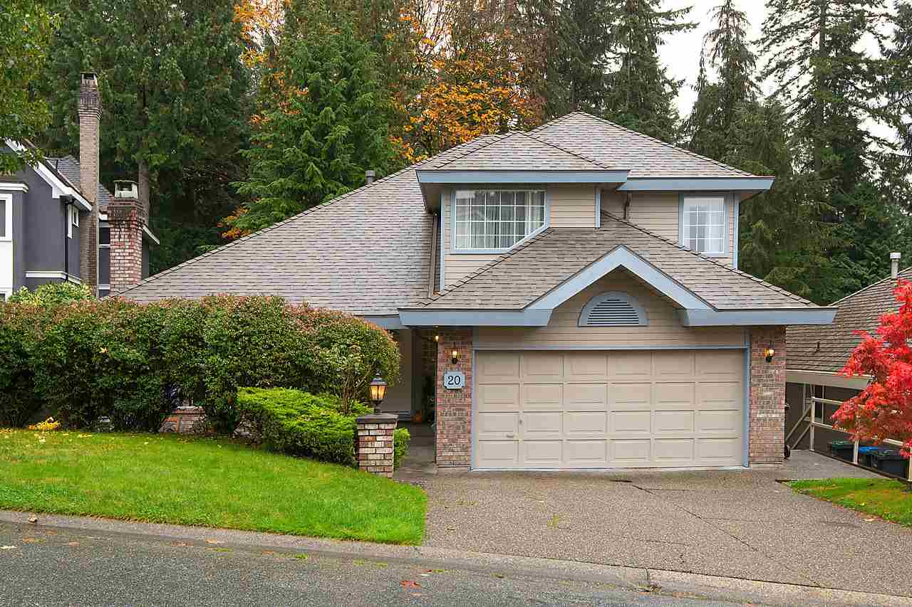 Main Photo: 20 TIMBERCREST Drive in Port Moody: Heritage Mountain House for sale : MLS® # R2136574