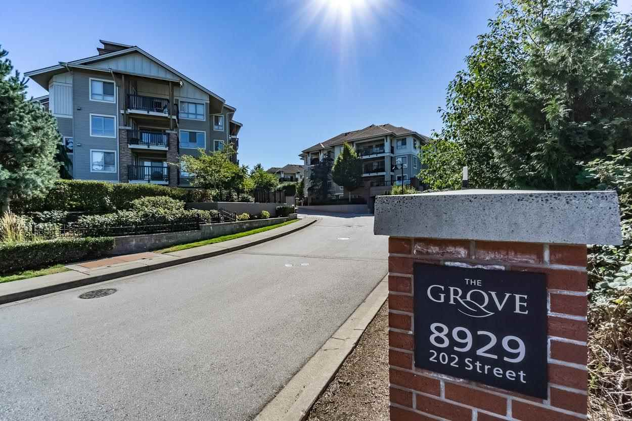 "Main Photo: A408 8929 202ND Street in Langley: Walnut Grove Condo for sale in ""Grove"" : MLS® # R2141845"