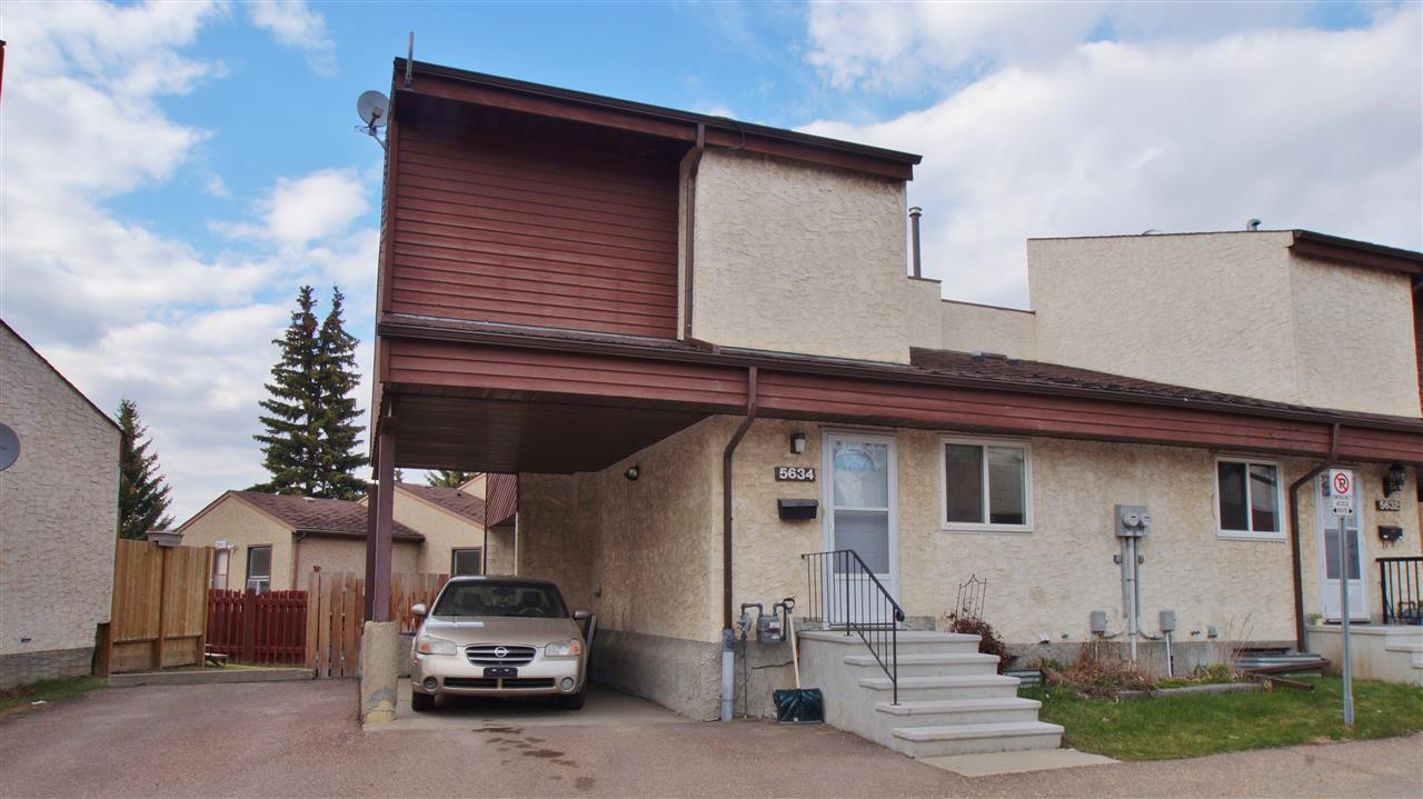 Main Photo: 5634 19A Avenue in Edmonton: Zone 29 Townhouse for sale : MLS® # E4061782