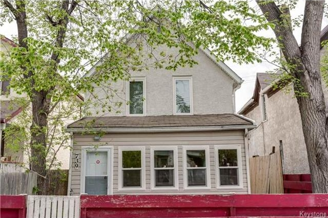 Main Photo: 739 McGee Street in Winnipeg: Residential for sale (5A)  : MLS®# 1711634