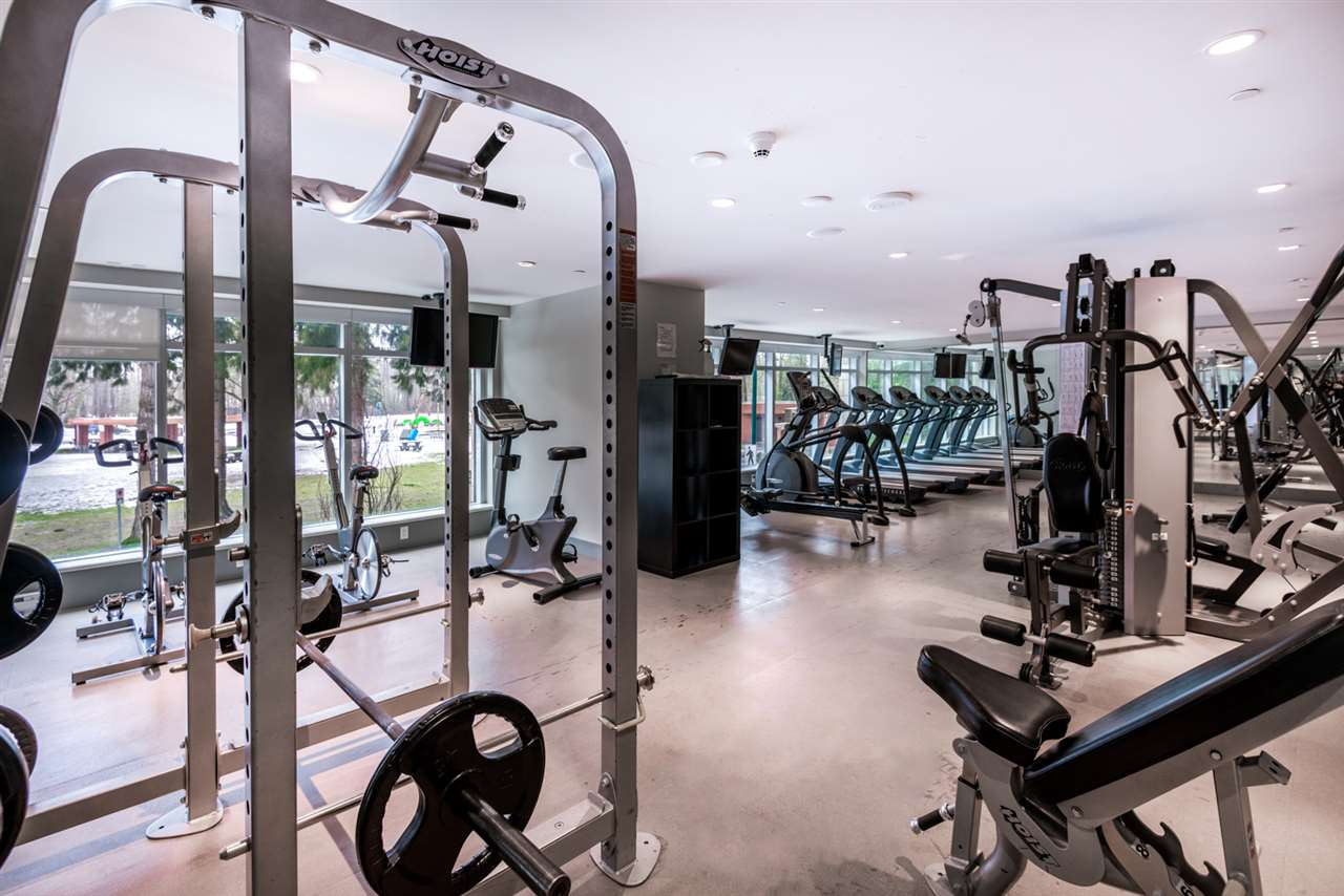 A top of the line gym is just a few steps away!