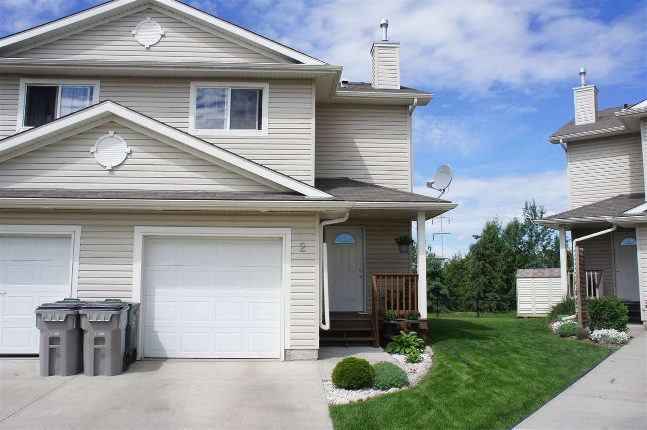 Main Photo: 2 Graywood Terrace: Stony Plain House Half Duplex for sale : MLS(r) # E4070125