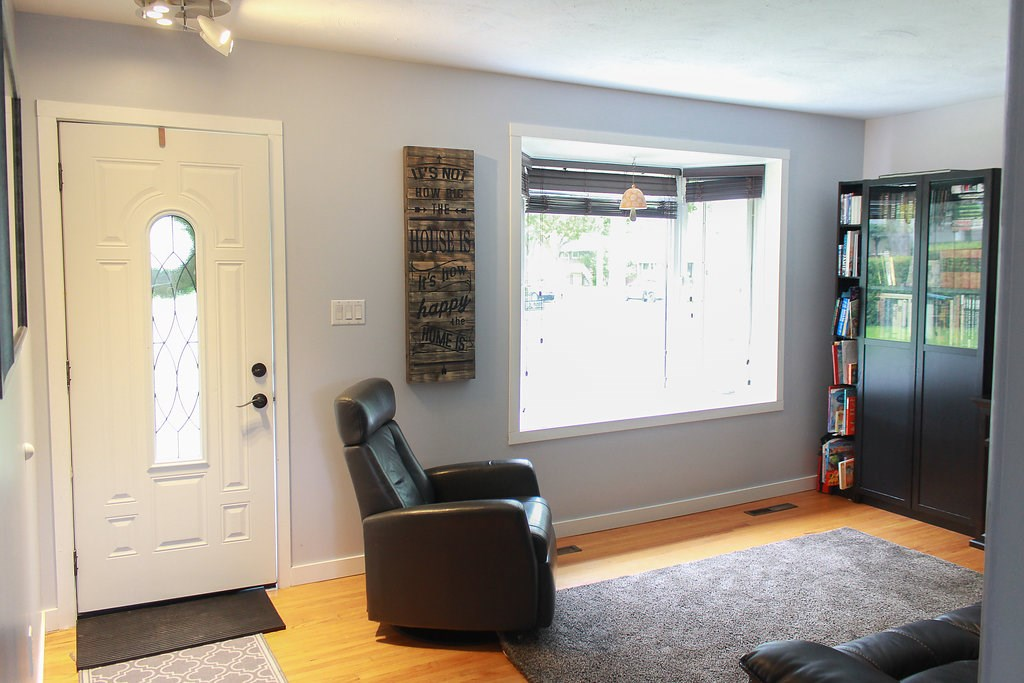 Living Room has large front window letting in tons of natural light