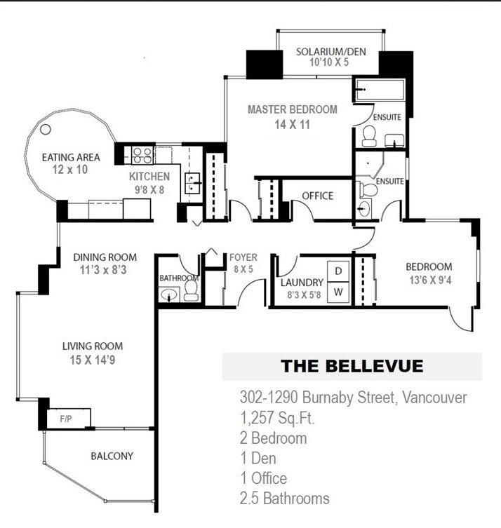 "Photo 20: 302 1290 BURNABY Street in Vancouver: West End VW Condo for sale in ""The Bellevue"" (Vancouver West)  : MLS(r) # R2187984"
