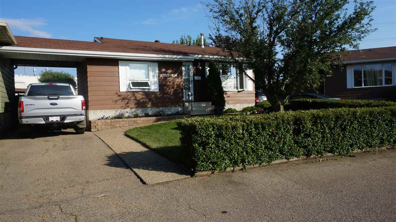 Main Photo: 13819 114 Street in Edmonton: Zone 27 House Half Duplex for sale : MLS® # E4074323