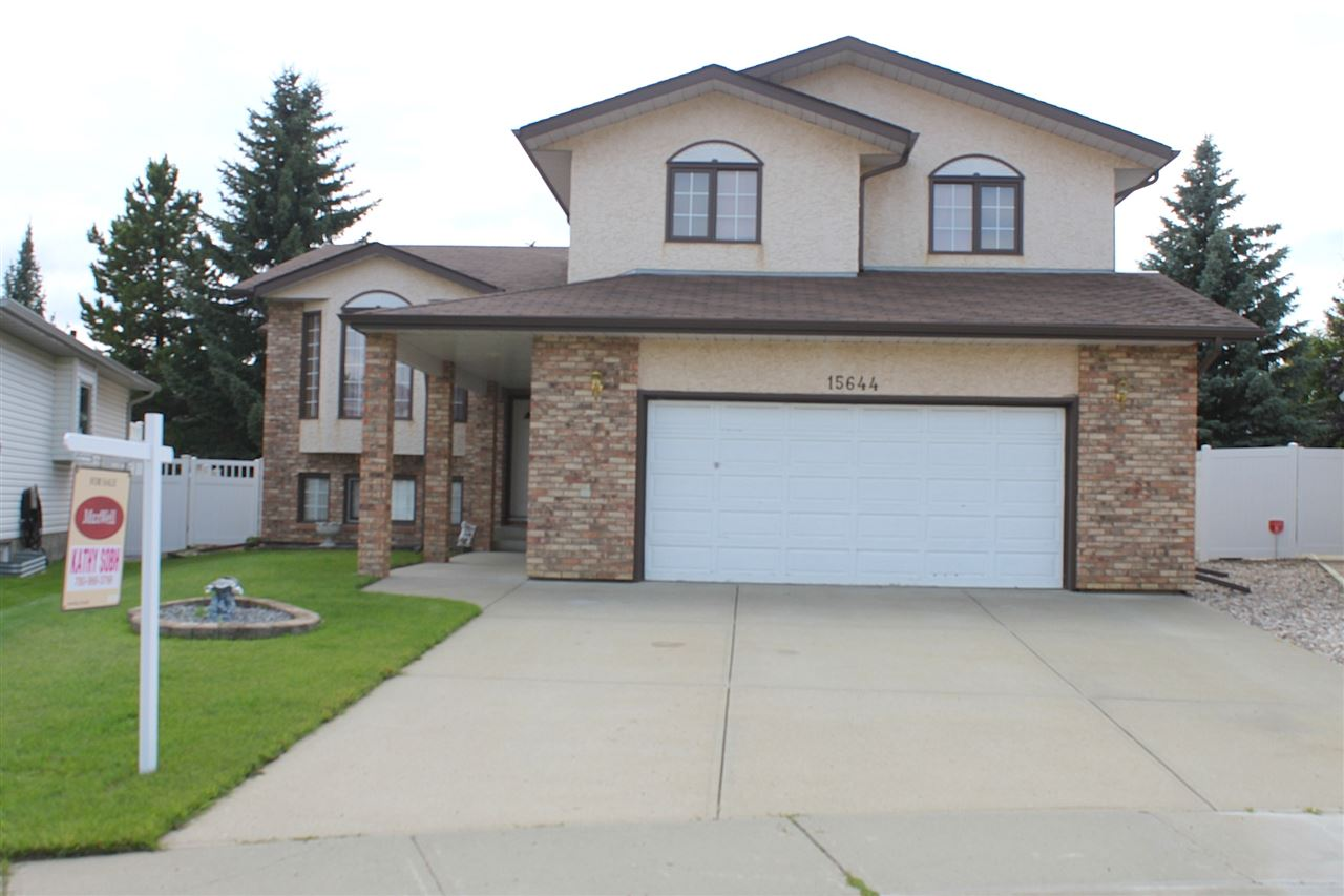 Main Photo: 15644 63 Street in Edmonton: Zone 03 House for sale : MLS® # E4076795