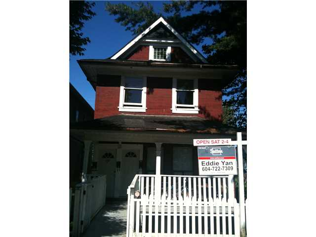 Main Photo: 777 UNION Street in Vancouver: Mount Pleasant VE House for sale (Vancouver East)  : MLS® # V907747
