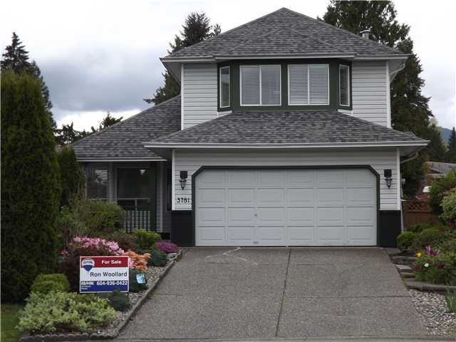 "Main Photo: 3781 SUTHERLAND ST in Port Coquitlam: Oxford Heights House for sale in ""HYDE CREEK ESTATES"" : MLS® # V947670"