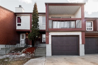 Main Photo: 29 LORELEI Close in Edmonton: Zone 27 Townhouse for sale : MLS(r) # E4057694