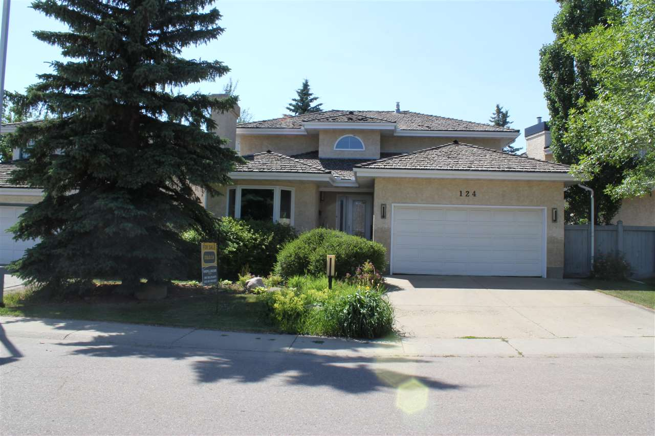 Main Photo: 124 Ower Place in Edmonton: Zone 14 House for sale : MLS® # E4061224