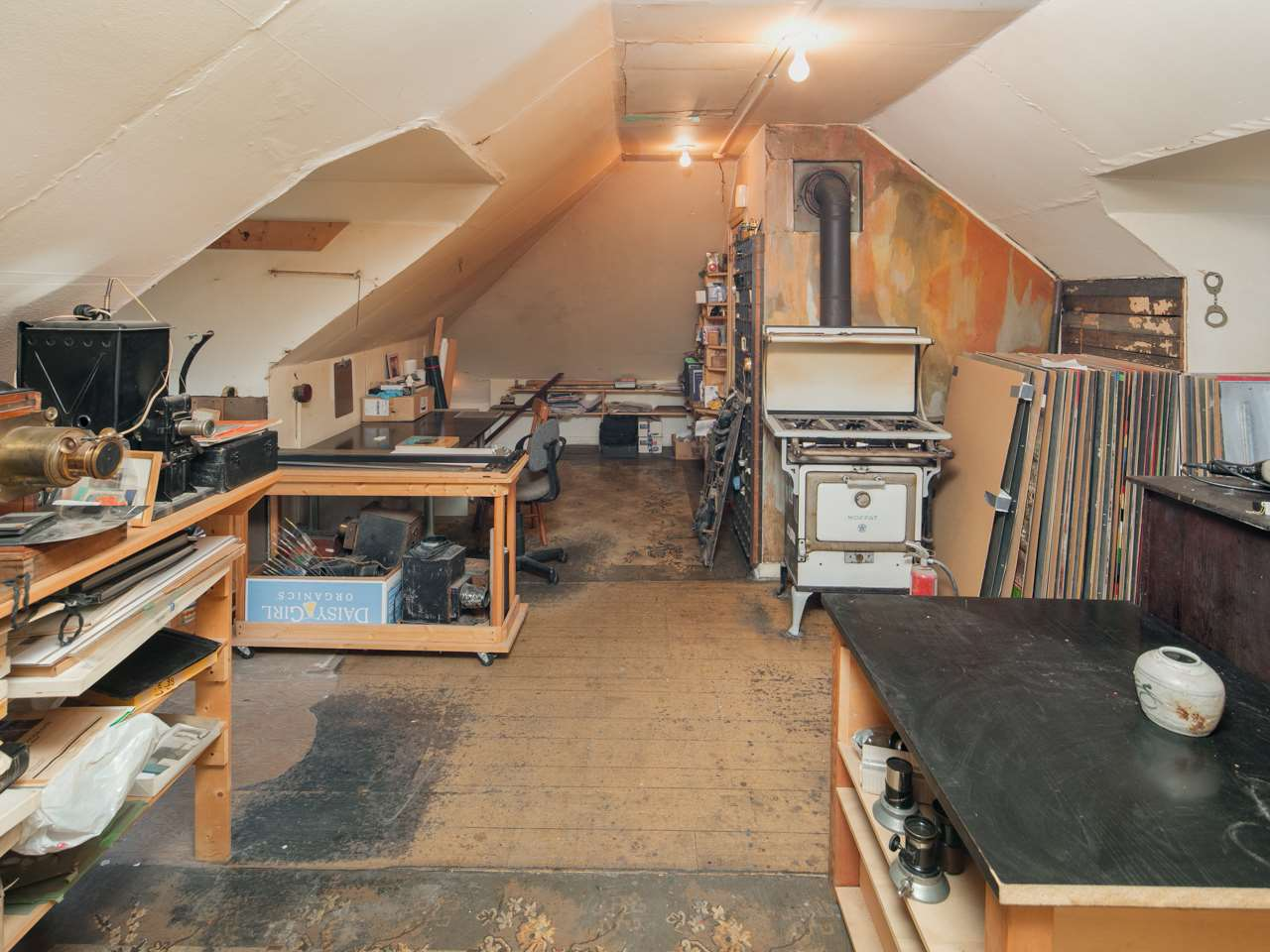 Master Bedroom in Attic