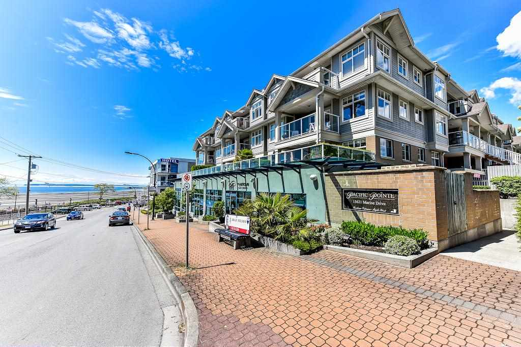 "Main Photo: 316 15621 MARINE Drive: White Rock Condo for sale in ""PACIFIC POINT"" (South Surrey White Rock)  : MLS(r) # R2176683"