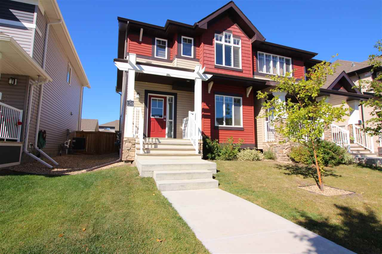 Main Photo: 130 CY BECKER Boulevard in Edmonton: Zone 03 House Half Duplex for sale : MLS® # E4083242