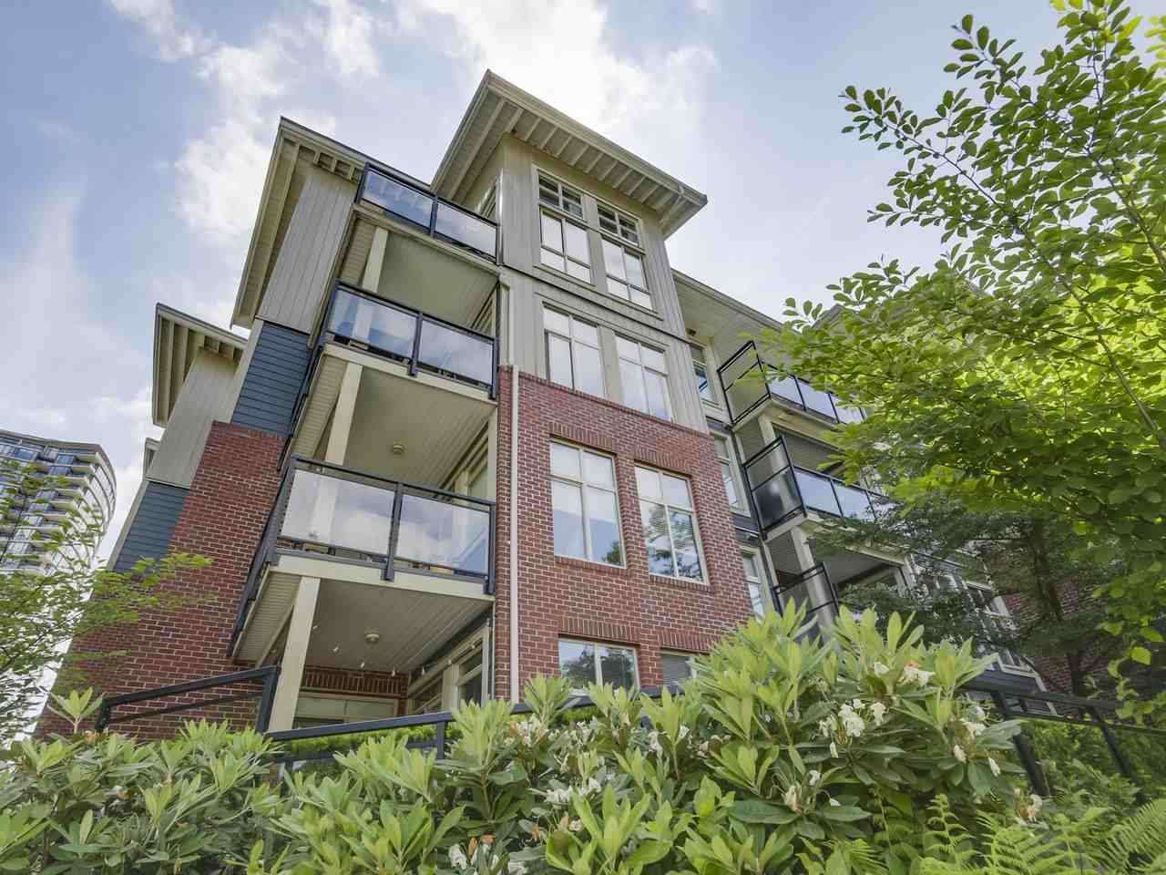 Main Photo: 310 101 MORRISSEY Road in Port Moody: Port Moody Centre Condo for sale : MLS®# R2272891