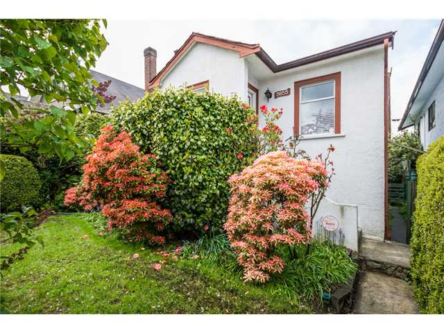 Main Photo: 3655 DUNBAR Street in Vancouver: Dunbar House for sale (Vancouver West)  : MLS®# V1062696