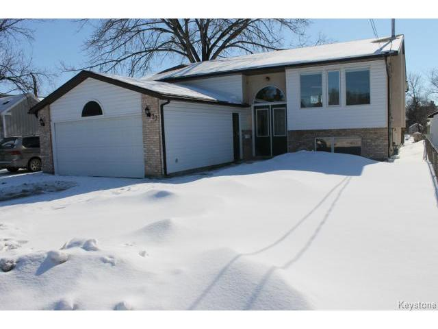 Main Photo: 70 Hindley Avenue in WINNIPEG: St Vital Residential for sale (South East Winnipeg)  : MLS® # 1504801