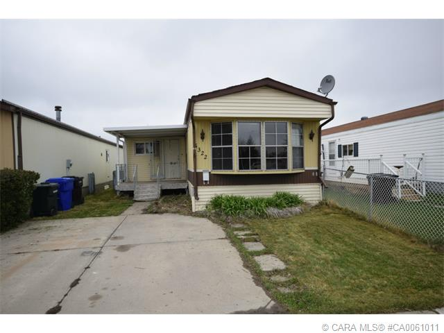 Main Photo: 5322 BIRCH Road in Olds: OS Olds Residential Mobile for sale : MLS(r) # CA0061011