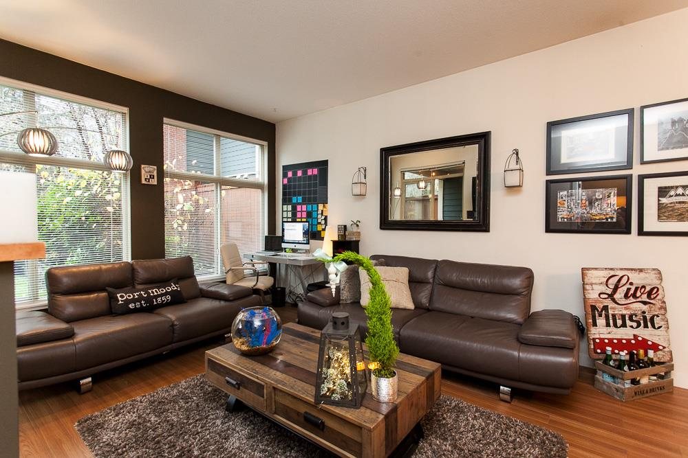 "Photo 4: 103 201 MORRISSEY Road in Port Moody: Port Moody Centre Condo for sale in ""LIBRA"" : MLS® # R2125986"