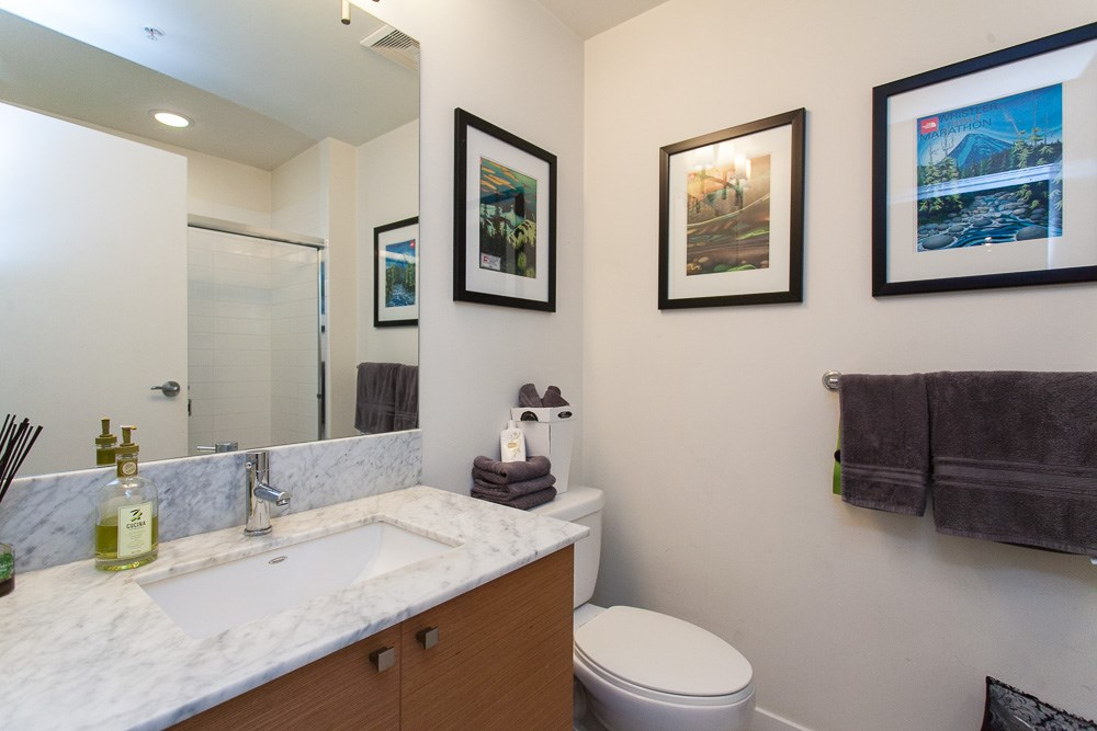 "Photo 10: 103 201 MORRISSEY Road in Port Moody: Port Moody Centre Condo for sale in ""LIBRA"" : MLS® # R2125986"