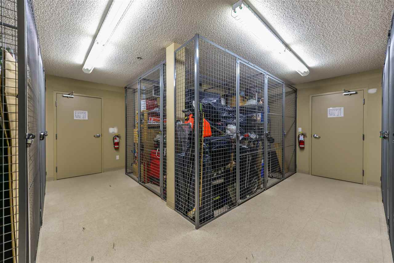 Storage cage is just next door to the condo