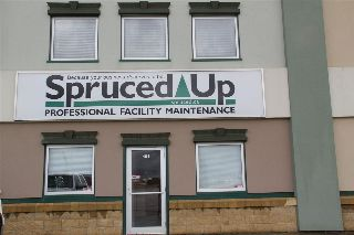 Main Photo: 101 301 Saskatchewan Avenue: Spruce Grove Industrial for lease : MLS® # E4072587