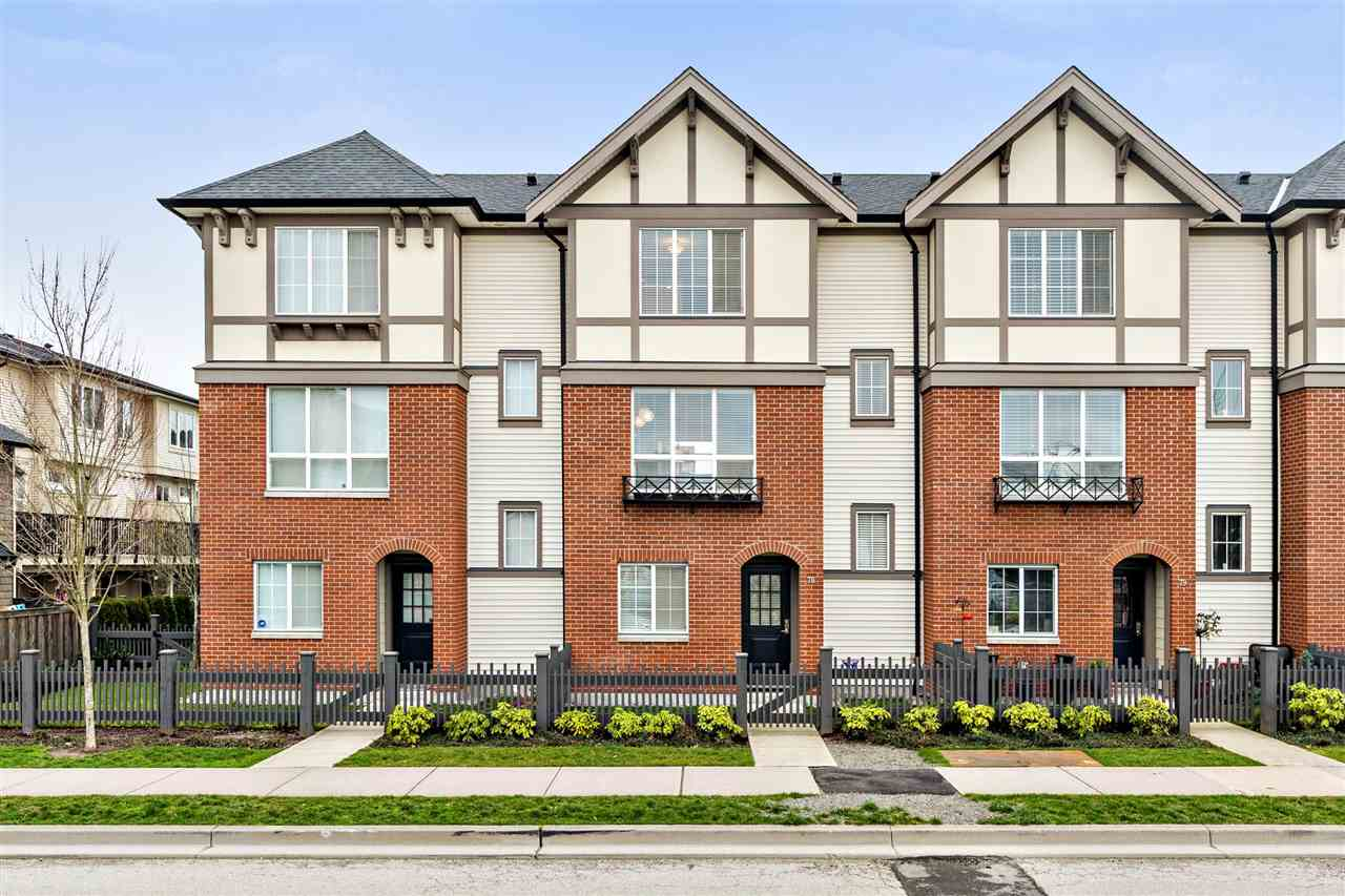 "Main Photo: 78 7848 209 Street in Langley: Willoughby Heights Townhouse for sale in ""MASON & GREEN"" : MLS® # R2239163"