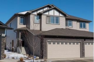 Main Photo: 1406 152 Avenue NW in Edmonton: Zone 35 House Half Duplex for sale : MLS®# E4103483