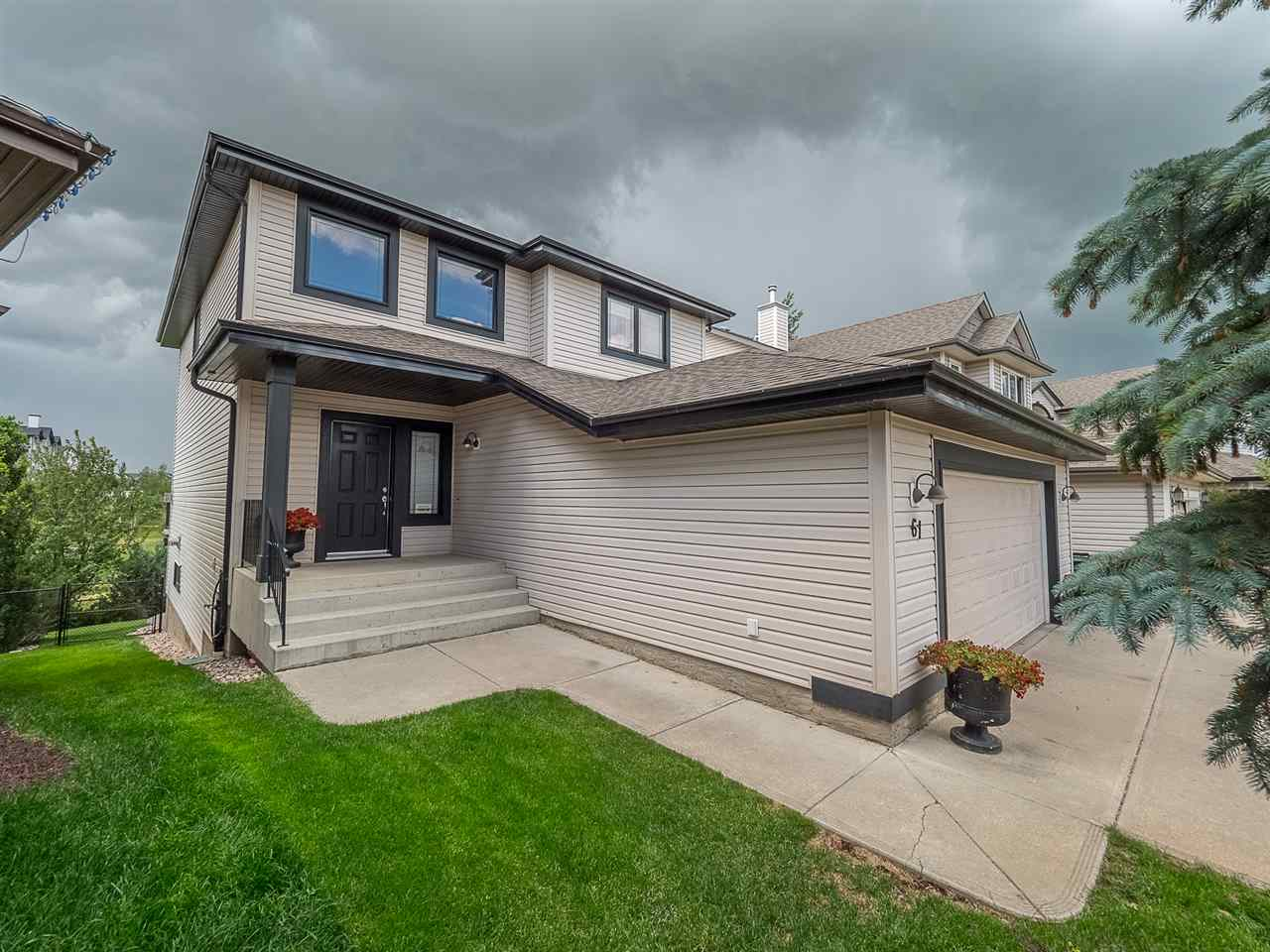 Main Photo: 61 Summercourt Place: Sherwood Park House for sale : MLS®# E4120228