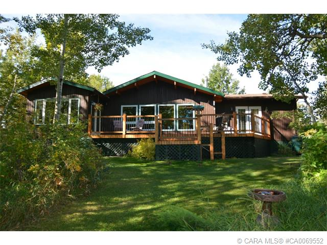 Main Photo: 123 Beaver Drive in Ferintosh: CC Little Beaver Lake Estates Residential Acreage for sale (Camrose County)  : MLS® # CA0069552